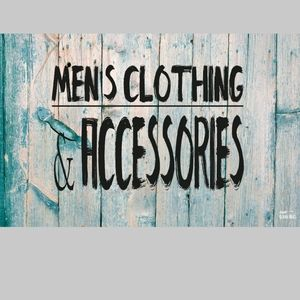 MENS CLOTHING & ACCESSORIES